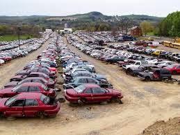 junk cars.