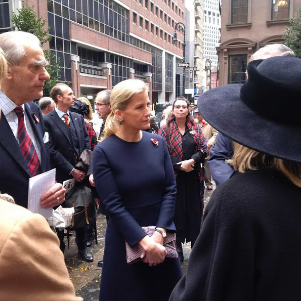 The Countess Of Wessex Visits The 9/11 Memorial Museum