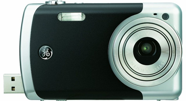 Digital Camera GE CRE00-BK Black 12.2 MP  (Specs+Price Update)