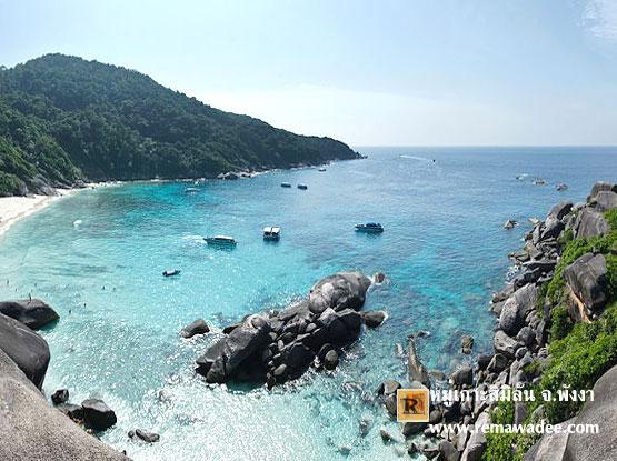 รวมภาพท้องทะเลแห่งอันดามัน หมู่เกาะสิมิลัน