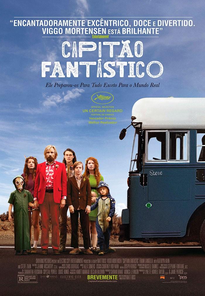 Filme Poster Capitão Fantástico