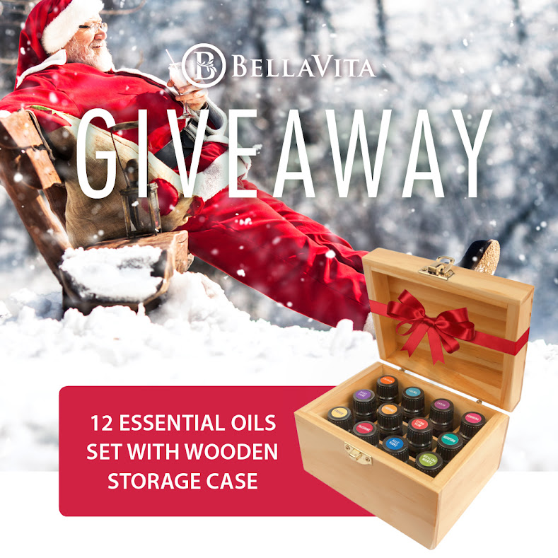 BellaVita Mediterranean Essential oil kit GIVEAWAY!!