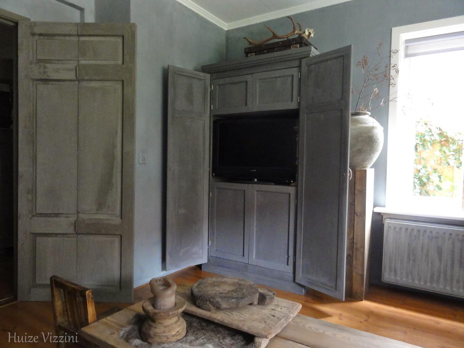 Kast Met Kleuren: Tv kast foshan deuren nissen iepenhout kleuren ...