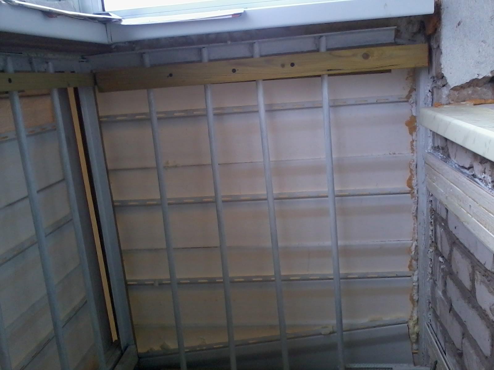 Утепляем балкон - обшивка изнутри (часть первая) ремонт свои.