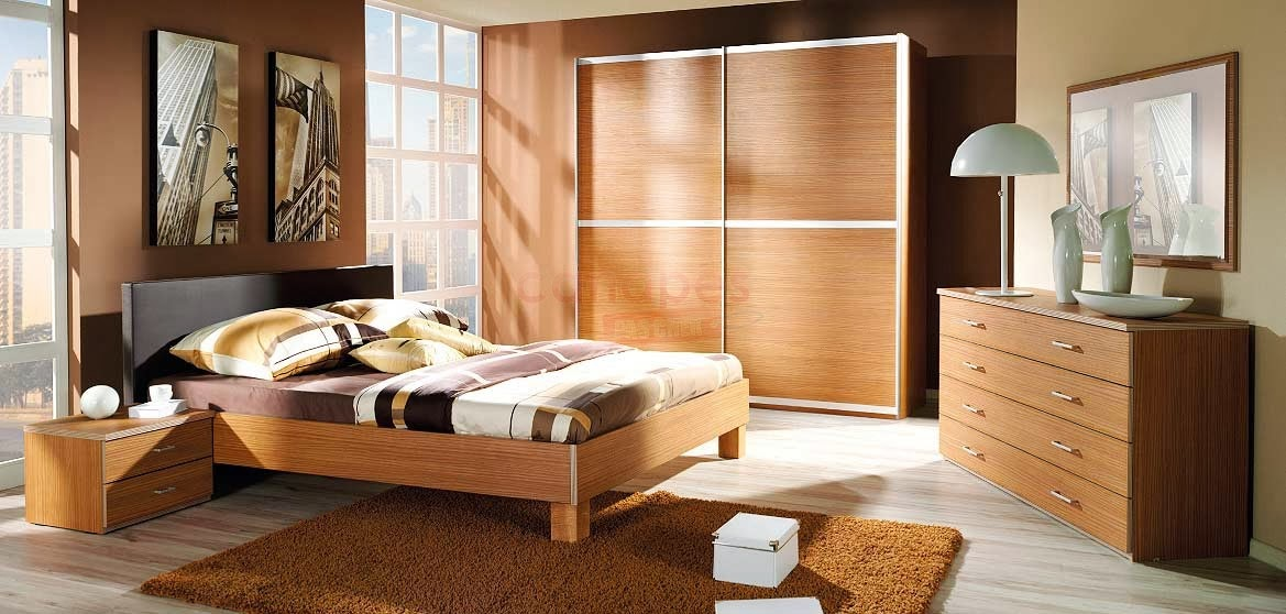 chambre coucher compl te adulte. Black Bedroom Furniture Sets. Home Design Ideas