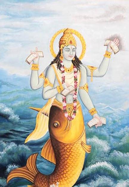 hindu mythology  matsya avatar