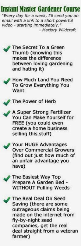 Instant Master Gardener Course