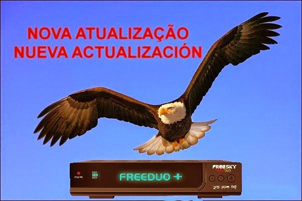 ATUALIZAÇÃO FREESKY FREEDUO PLUS ( + ) - V 1.80 - 17/10/2014