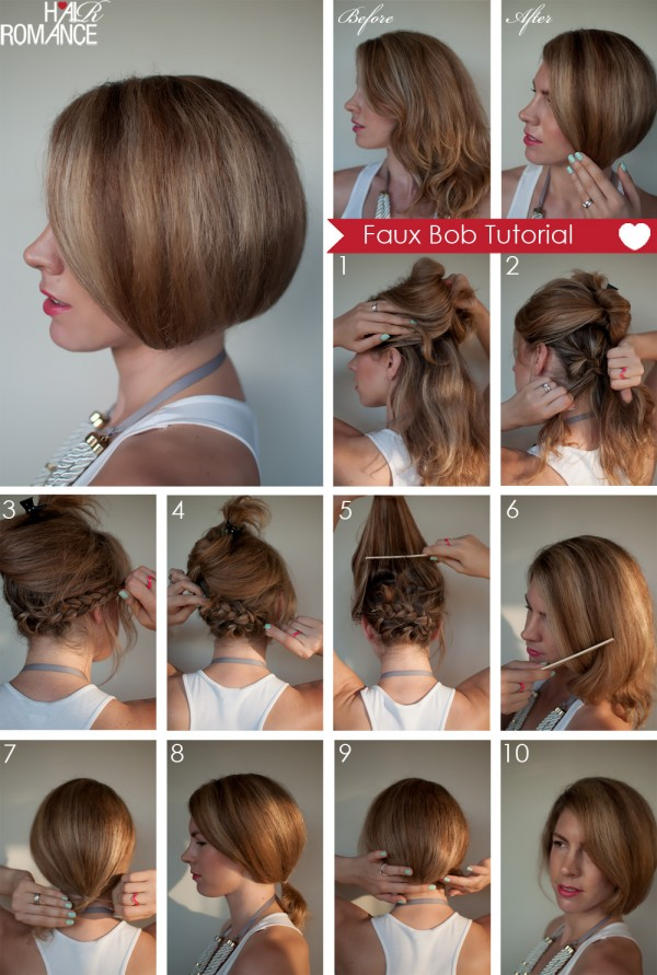 Acconciature capelli corti per cerimonia tutorial