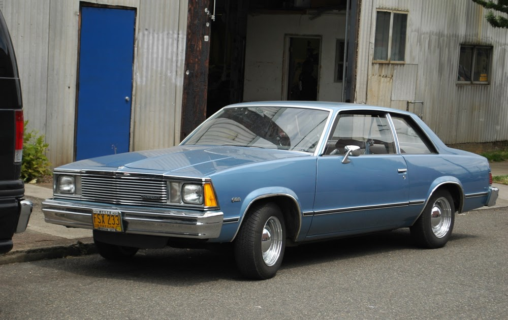 Old Parked Cars 1981 Chevrolet Malibu