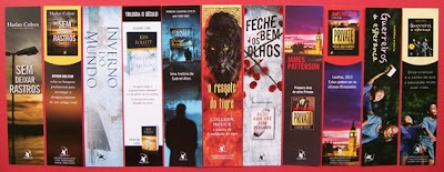 marcadores da Editora Arqueiro