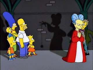 Adivina la película simpsonizada Dracula