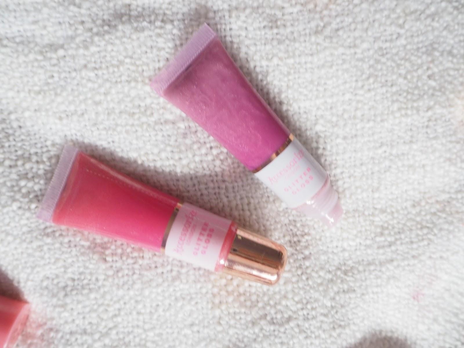 glitter lipglosses