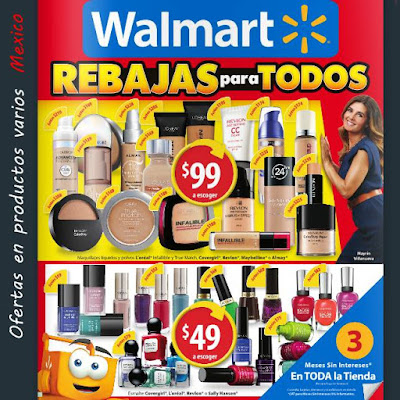 Catalogo Rebajas Walmart junio 2015