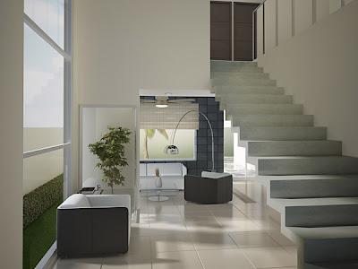 Decoraci n minimalista y contempor nea interiores for Decoracion de interiores minimalista