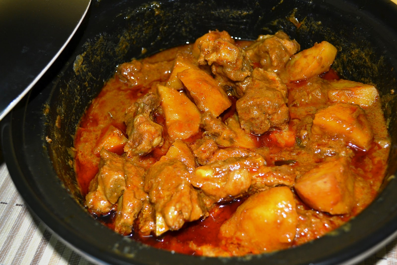 Recipe for curry pork ribs