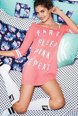Victorias Secret Pink camiseta de dormir