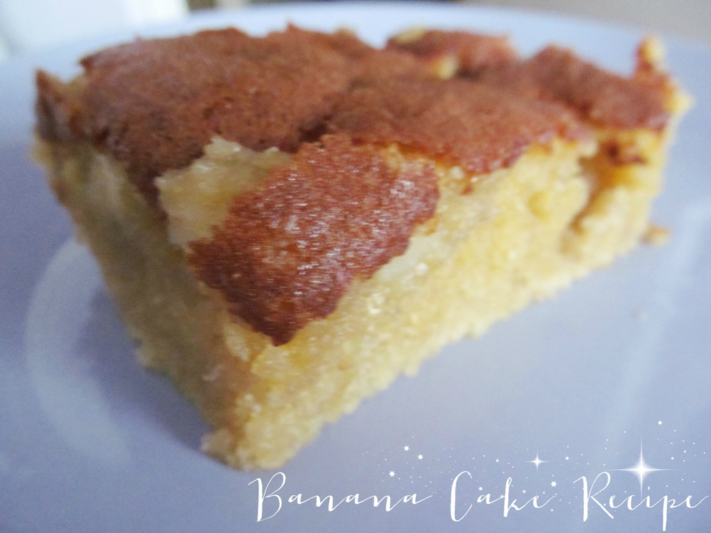 Simple Banana Cake Recipe With Oil