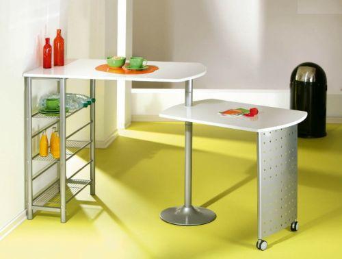 Keuken Met Bartafel : De bartafel Filamento beschikt over twee tafelbladen waarvan er ??n