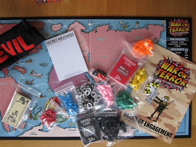 Game board and components