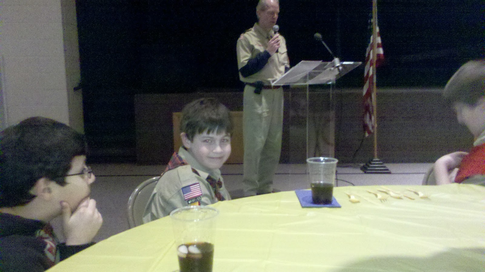 Dad Not Deployed Cub Scouts To Boy Scouts