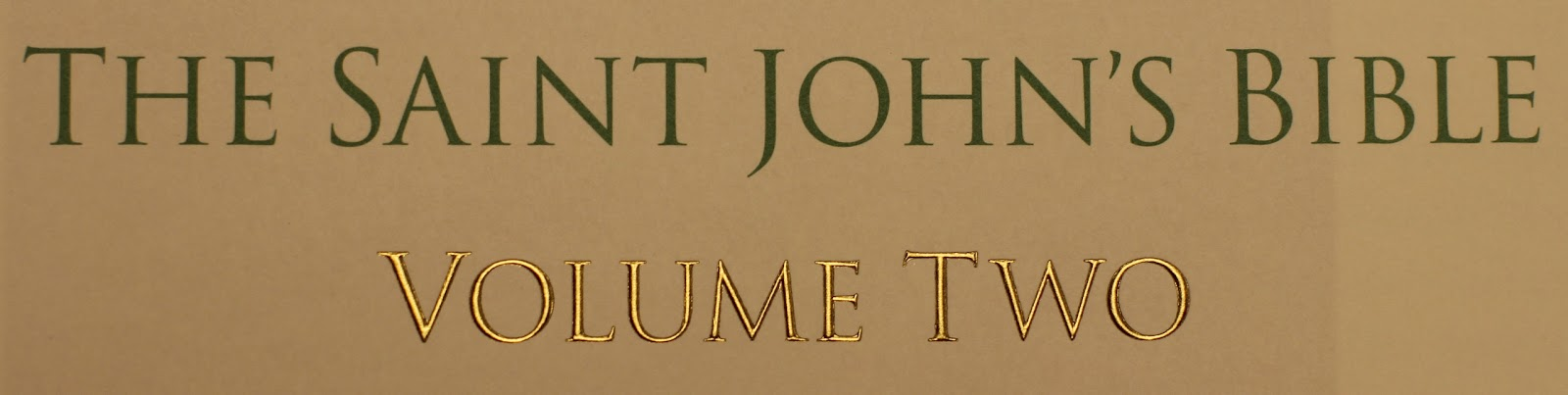 The Saint John's Bible Volume Two