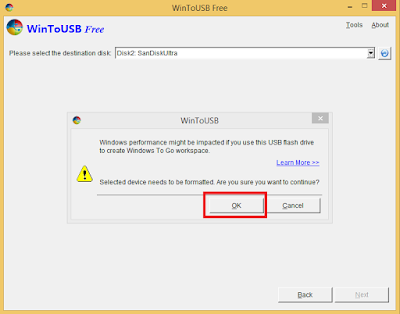 Cara Install Windows ke Dalam USB FlashDisk atau Harddisk Eksternal
