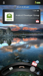 GOTO Lockscreen apk, Android App Beautiful Lockscreen