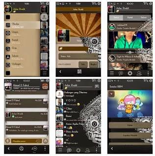 BBM Mod Aksara Theme v2.8.0.21 Apk