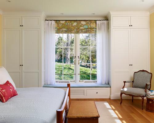 ديكور غرفة نوم رئيسية طراز منزل المزرعة في فيلادلفيا