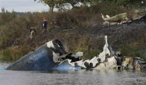 Russian Plane Crash Kills Lokomotiv Yaroslavl Ice Hockey Team 2