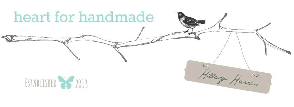 <center>Heart for Handmade</center>