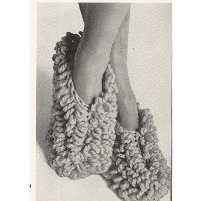 Free Crochet Phentex Slipper Pattern : FREE KNITTING PATTERN FOR PHENTEX SLIPPERS - VERY SIMPLE ...