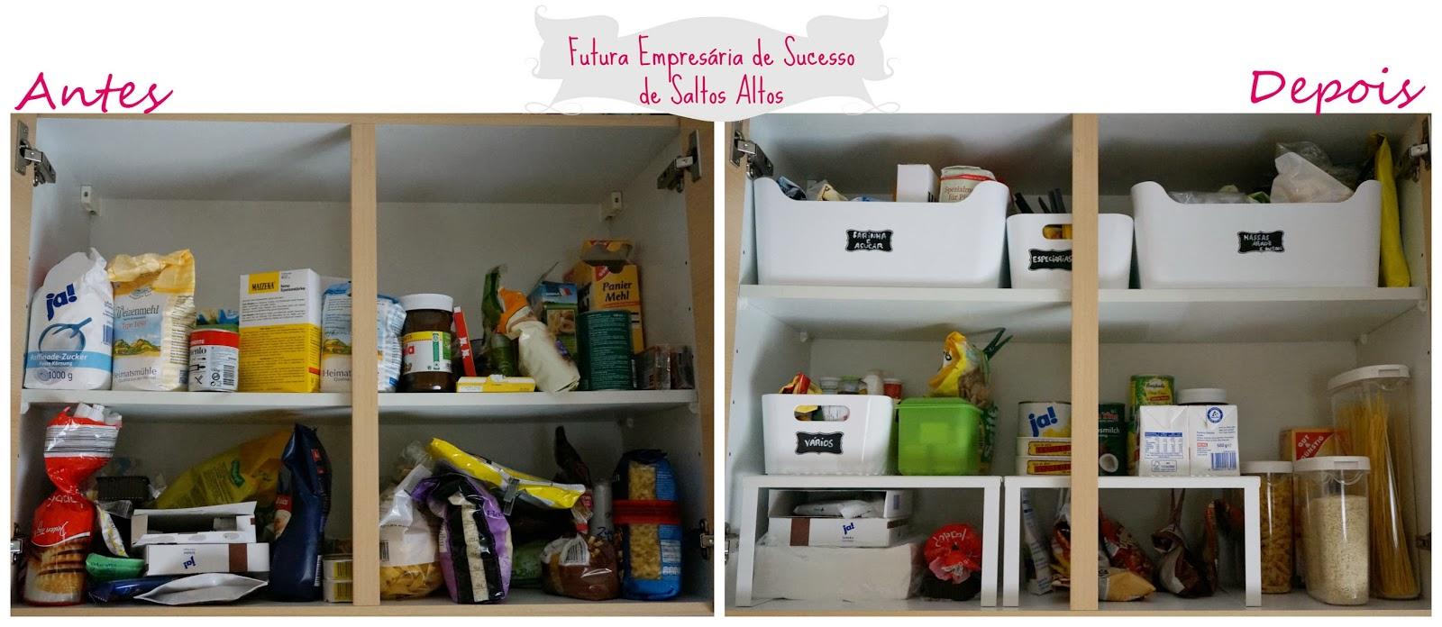 Diy como arrumar uma despensa ikea andreia pereira blog - Organizar armario ikea ...
