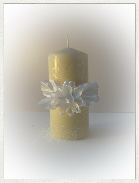 Свадебные свечи на свадьбу.