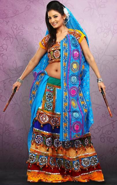 Toran Style  Chaniya Choli for Navratri Festival 2013