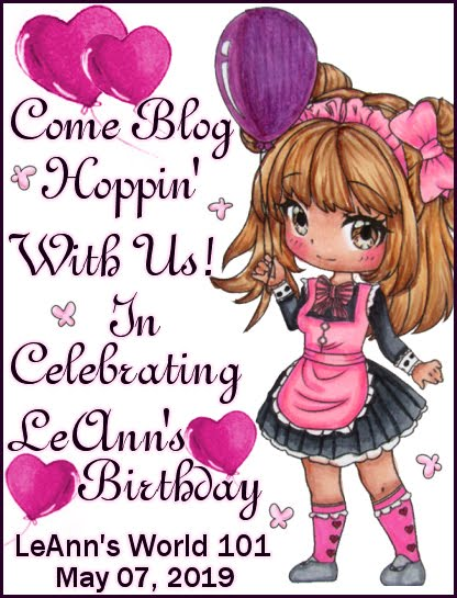 Blog hop & birthday challenge