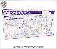 Hasbro G.I.Joe Sgt Slaughter Triple T tank tag team WWE WWF G.I.ジョー Kre-O クレオ