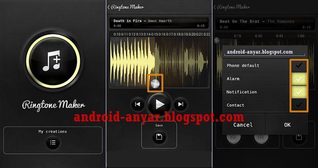 Download Aplikasi Pembuat Nada Dering Android dan Cara Install