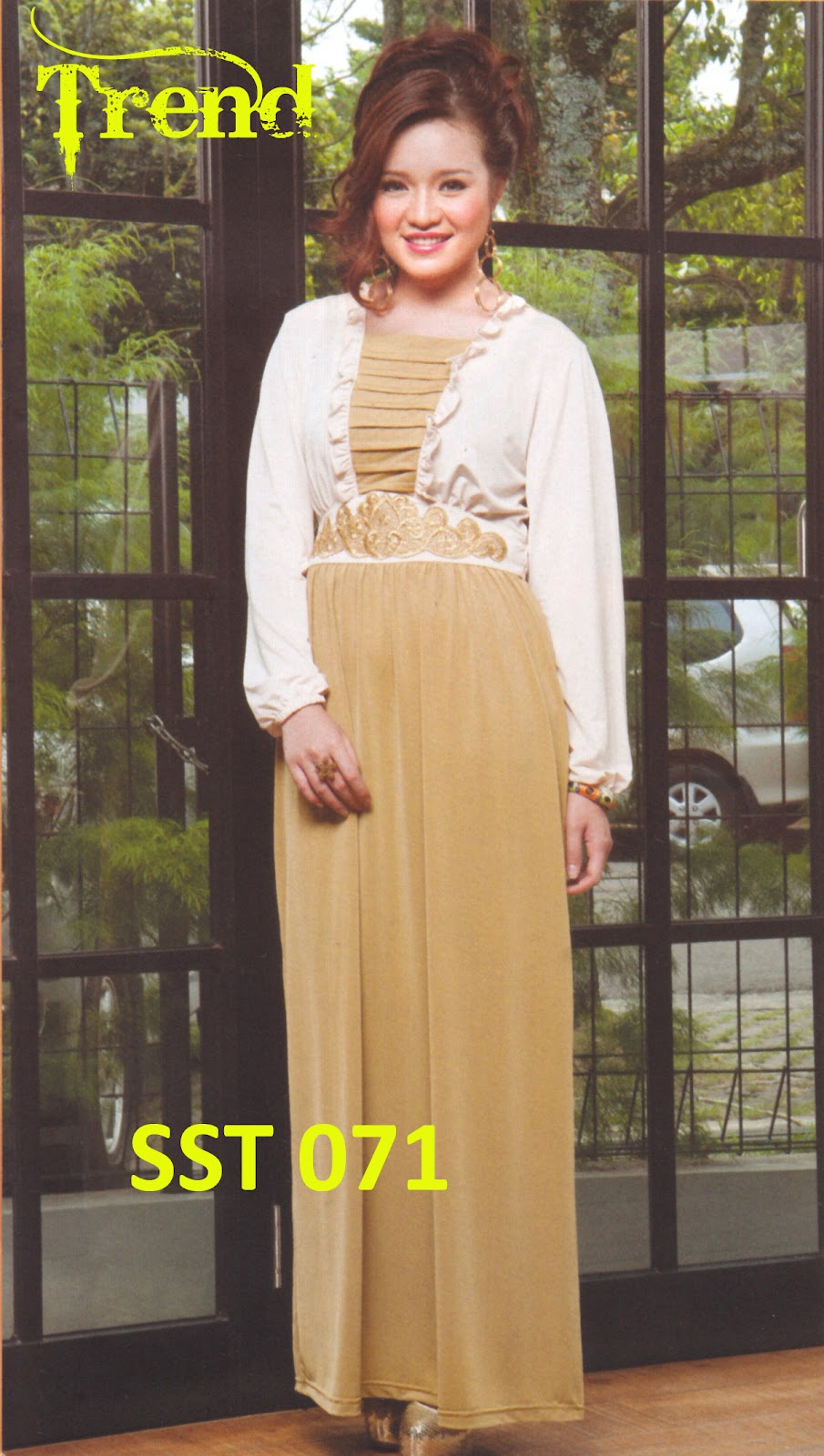 Fashion Baju 99 Baju Muslim Gamis Sst 071 Butik Toko