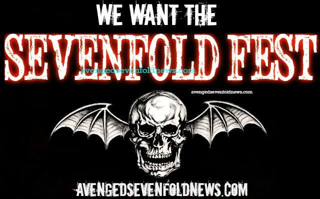 "We want the ""Sevenfold Fest"""