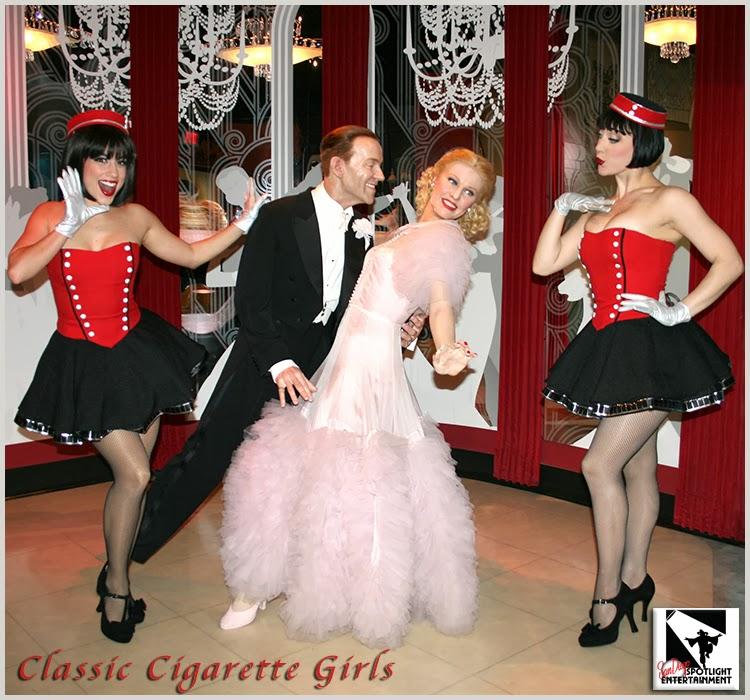 Classic Vintage Cigarette Girls