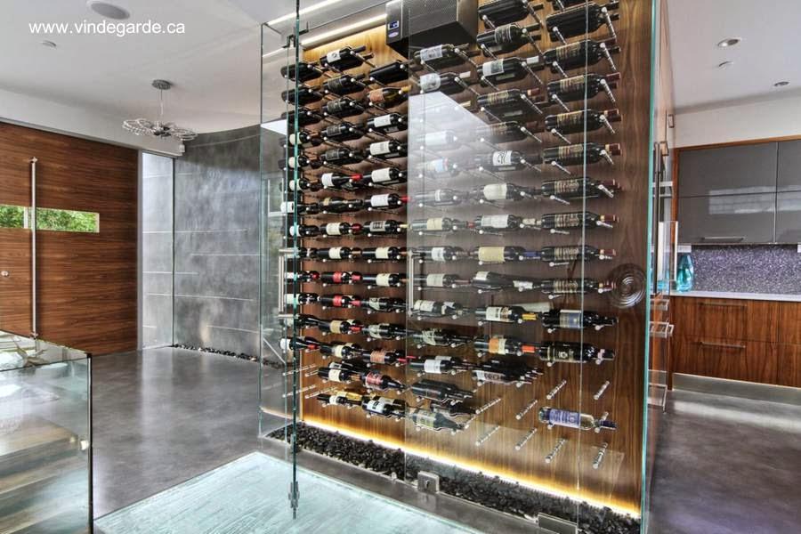 Arquitectura de casas tipos de bodegas para instalar en su hogar - Moderne wijnkelder ...
