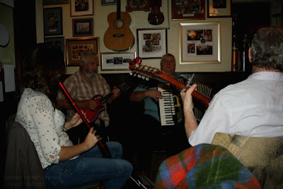 live music in the bar - The Port Charlotte Hotel and Bar, Islay, Scotland