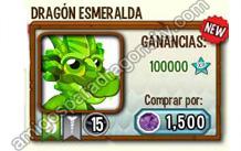 imagen de la formula del dragon esmeralda