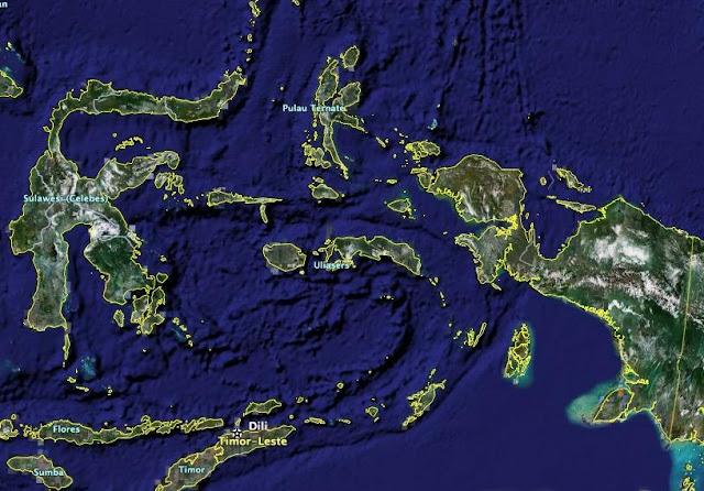 Pengamanan Wilayah Indonesia Timur Lemah