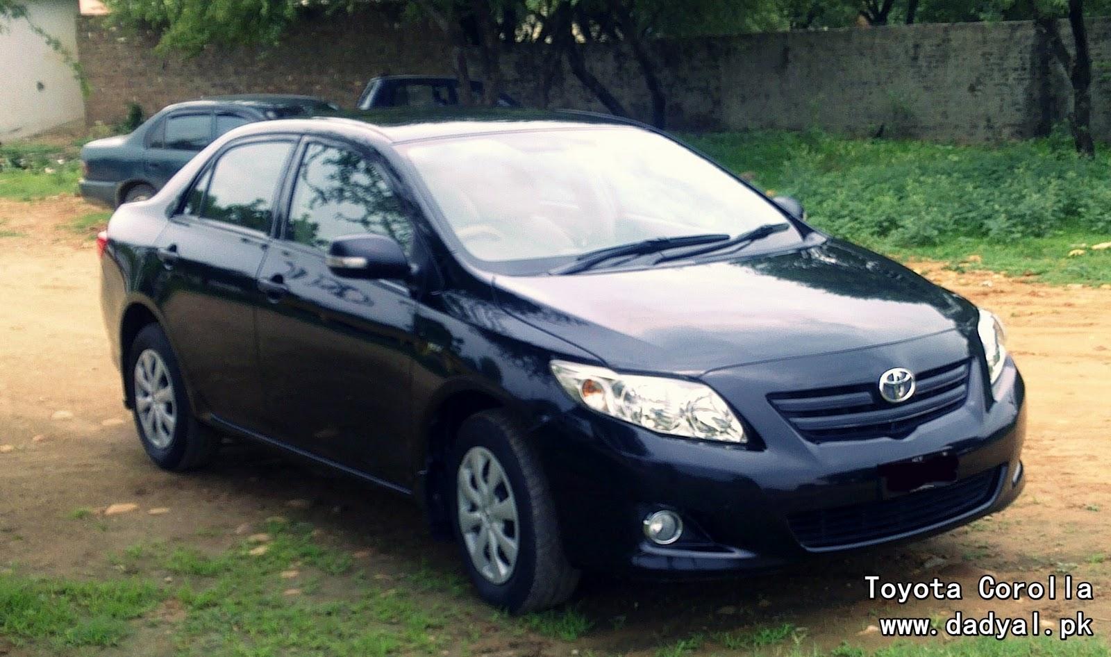 Toyota Corolla Newshape 2014in Pakistan | Autos Weblog