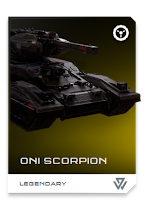 Halo 5: Guardians black oni scorpion tank