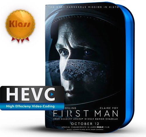 First Man (2018) IMAX 1080p BDRip HEVC-10Bits Dual Audio Latino-Inglés [Subt.Esp] ( Biográfico. Aventura espacial)