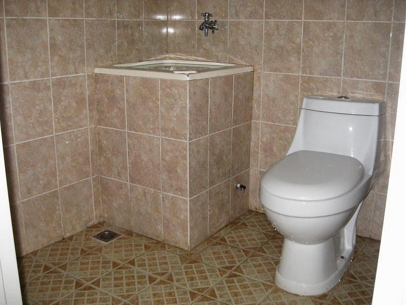 Bentuk-bentuk kamar mandi 8